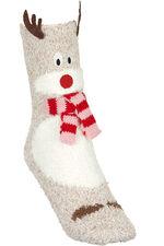 1 Pack Reindeer Cosy Sock