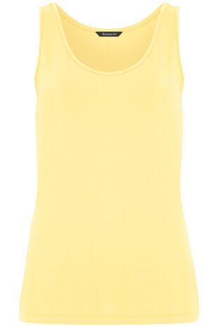 Scoop Plain Vest