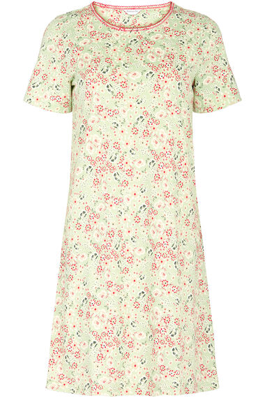Aqua Floral Nightdress