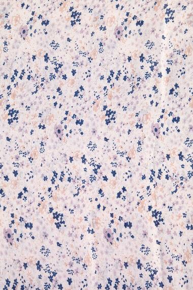 Beeline Ditsy Floral Tassel Scarf