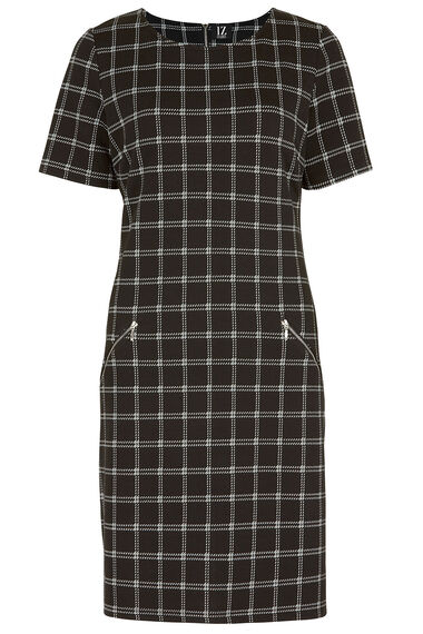 Izabel Checked Tunic Dress