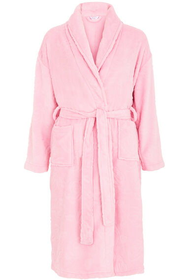 Floral Jacquard Dressing Gown