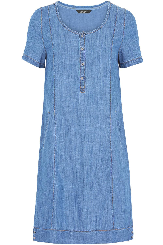 Tunic denim dress rare photo