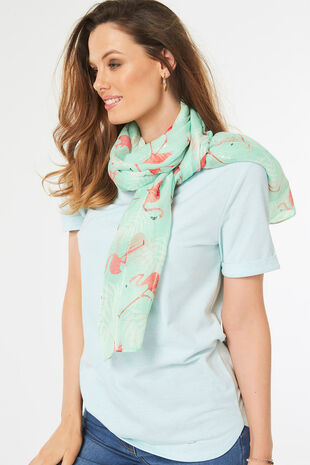 Flamingo Fun Scarf
