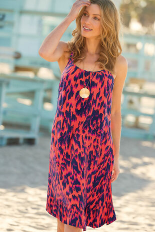 Animal Frill Hem Sundress