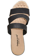 Cushion Walk Florence Triple Strap Mule Sandal