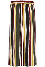 Stripe Crepe Culotte
