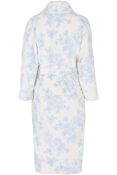 Linea Floral Fleece Robe