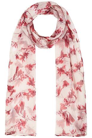 Blossom Printed Chiffon Scarf