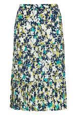 Printed Tiered Skirt