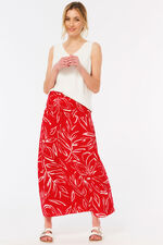 Floral Skirt Dress With Tassels