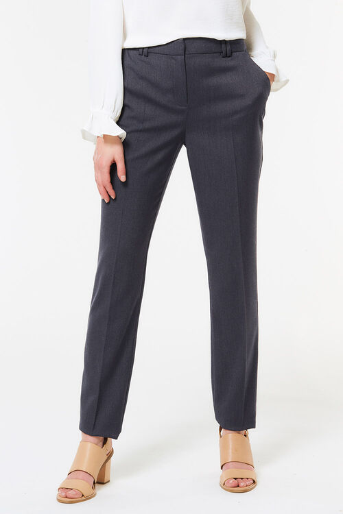 Tapered Chambray Trouser