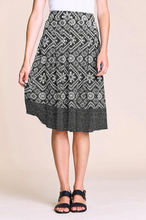 Aztec Printed Skirt