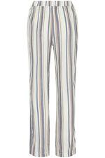 Stripe Linen Blend Trouser