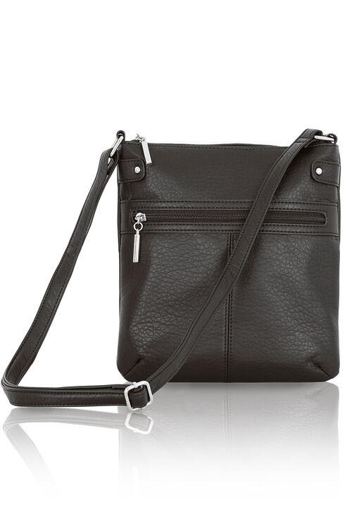 Zip Trim Cross Body Bag