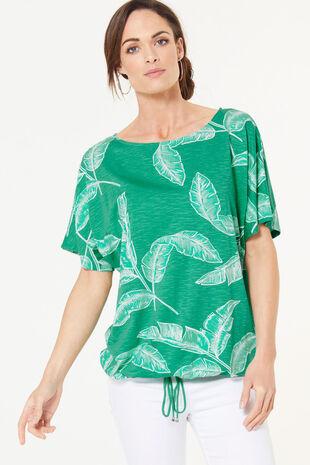 Banana Leaf Print T-Shirt