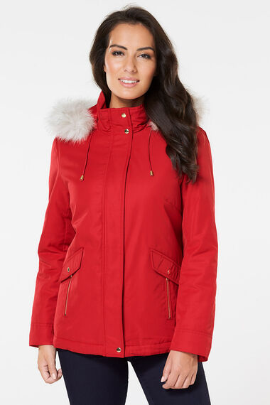 Hooded Padded Parka
