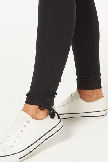 Ruched Hem Detail Legging