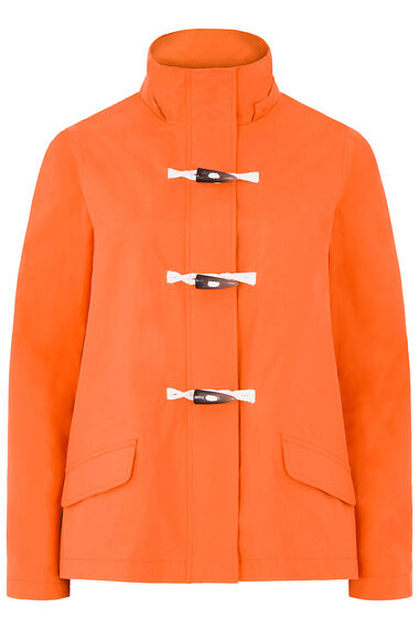 Short Length Waterproof Coat with Toggle