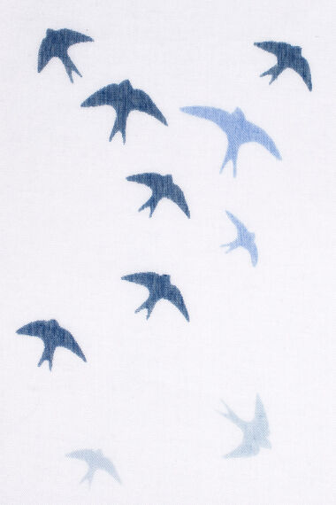 Swallow Print Scarf