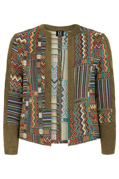 Izabel Patchwork Jacket