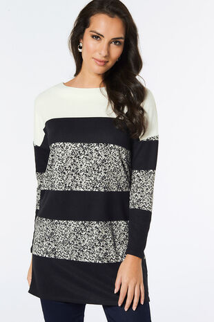 Stripe Colour Block Tunic