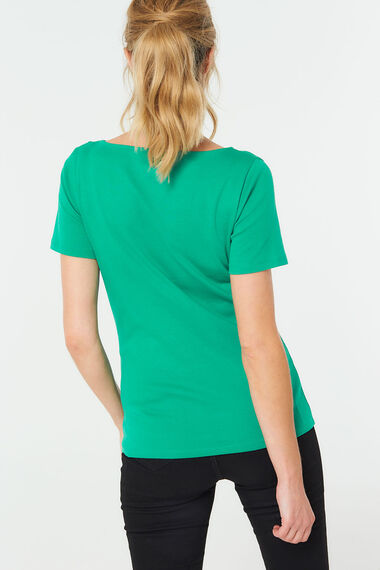 Boat Neck T-Shirt