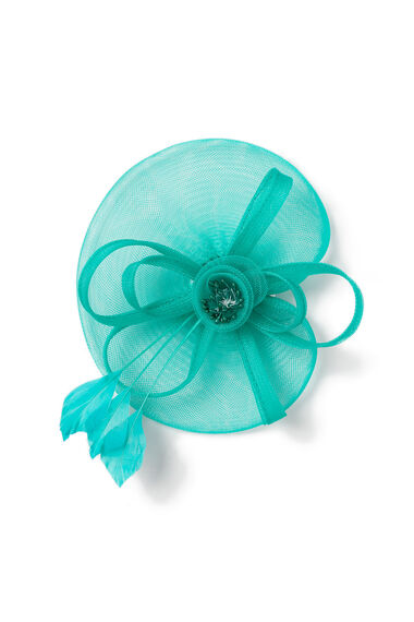 Muse Medium Mesh Green Fascinator