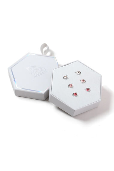 Muse Swarovski Elements 3 Pack Coral Earrings