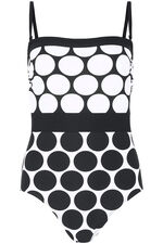 Spot Bandeau Swimsuit