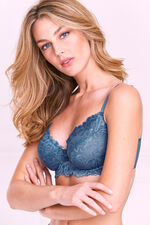2 Pack Two Tone Lace Underwire Bra