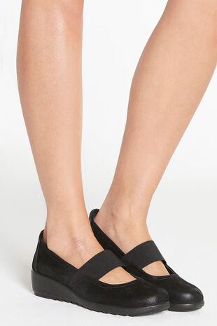 Cushion Walk Casual Elasticated Mary Jane