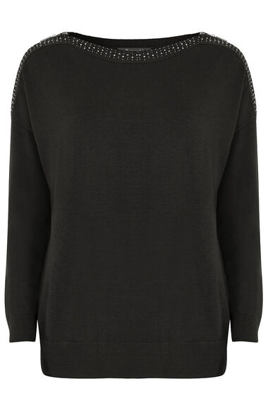 Zip Shoulder Jumper