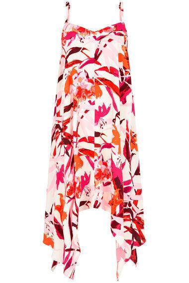 Tropical Hanky Hem Dress