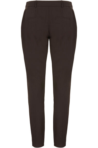 Lace Trim Tapered Trouser