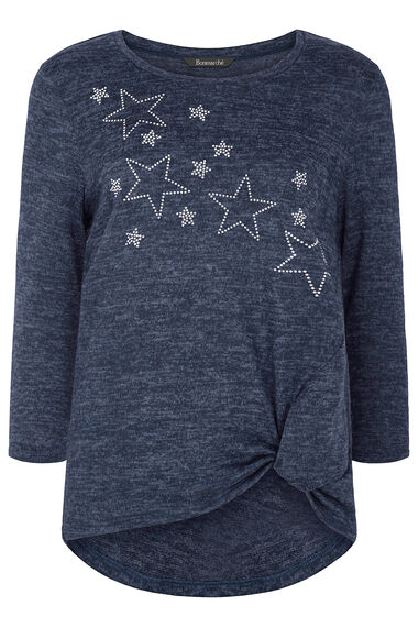 Soft Touch Star Embellishment Sweat