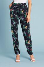 Floral Print Harem Trouser
