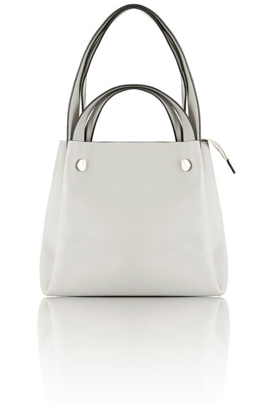 Kris-Ana Polished Detail Shoulder Bag with Inner Pouch