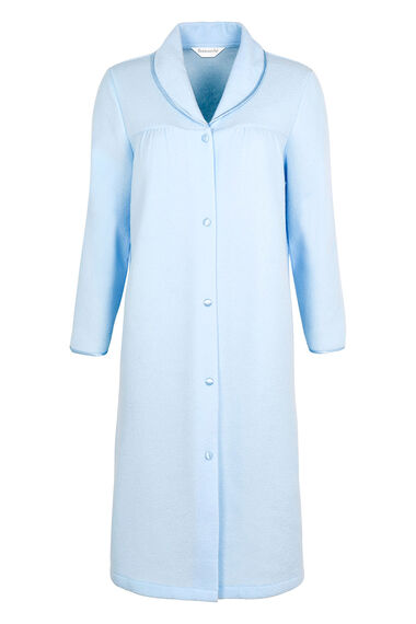 Shawl Button Through Dressing Gown