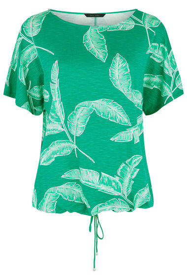 Banana Leaf Print T-Shirt
