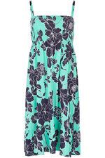 Floral Tiered Skirt Dress