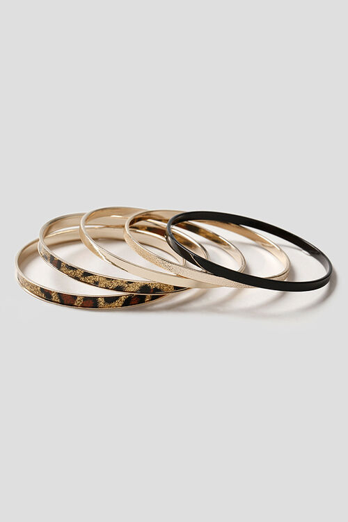 Muse Leopard Glitter Bangle Pack