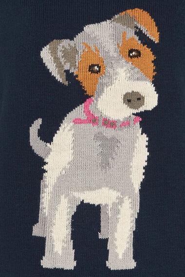 Dog Intarsia Jumper