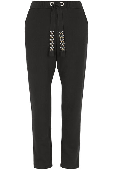 Jog Pant with Diamante Detail