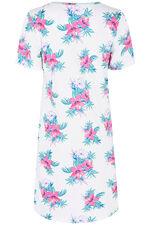 Floral Print Nightshirt