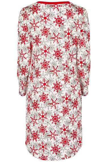 Snowflake Print Nightdress