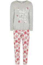 Snowflake Print Pyjama Set