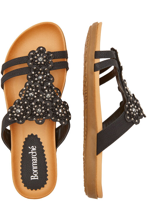 Floral Detail Sandals