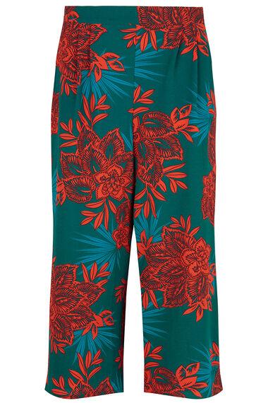 Wide Leg Culotte - Bold Floral