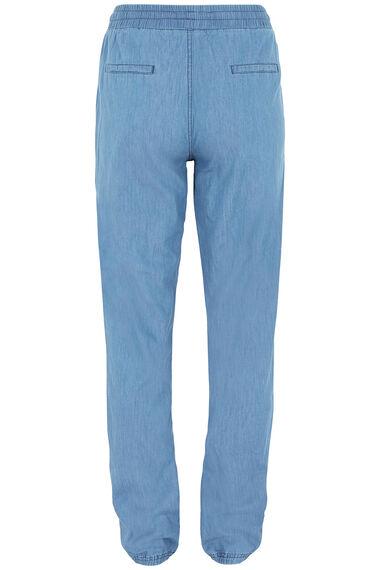 Izabel Chambray Harem Trousers